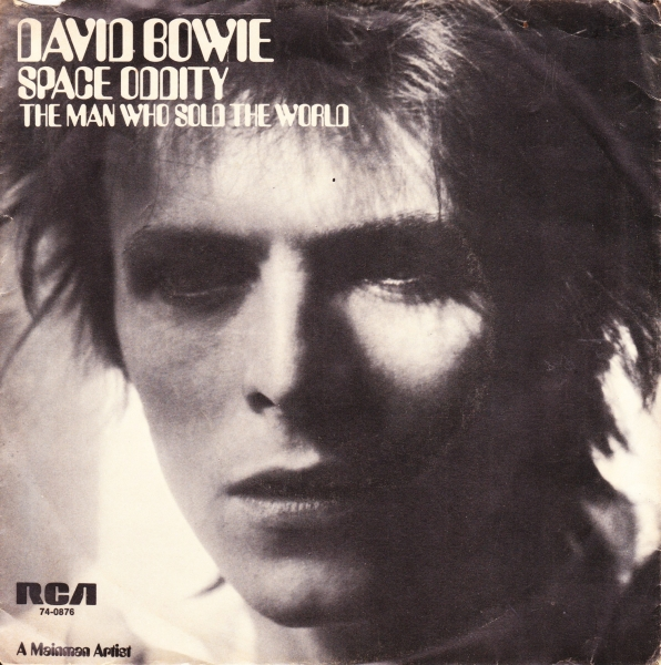 David Bowie Space Oddity / The Man Who Sold the World Cover Art