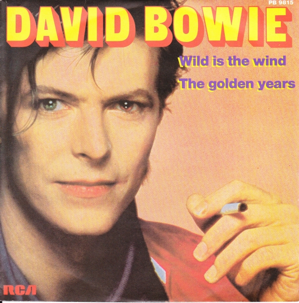 David Bowie Wild Is the Wind / The Golden Years Cover Art