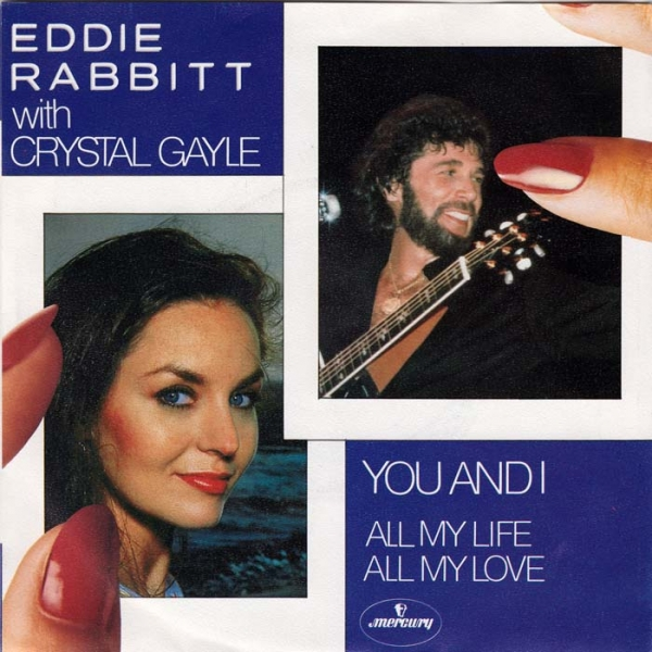 Eddie Rabbitt You and I / All My Life, All My Love Cover Art