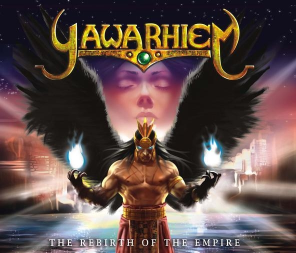 Yawarhiem The Rebirth of the Empire Cover Art