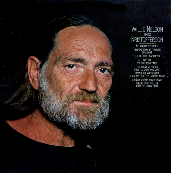 Willie Nelson Sings Kristofferson cover art