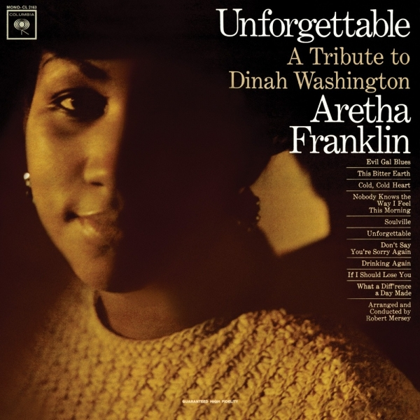 Aretha Franklin Unforgettable: A Tribute to Dinah Washington cover art