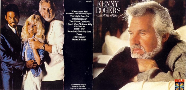 Kenny Rogers What About Me? cover art