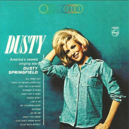 Dusty Springfield Dusty Cover Art