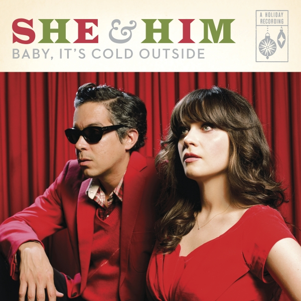 She & Him Baby, It's Cold Outside Cover Art