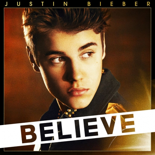 Justin Bieber Believe Cover Art
