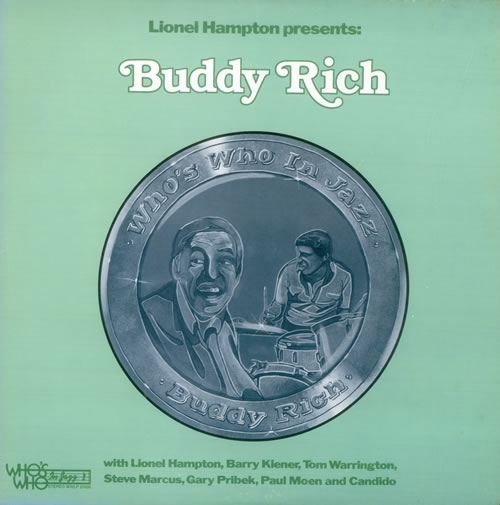 Buddy Rich Lionel Hampton Presents: Buddy Rich cover art