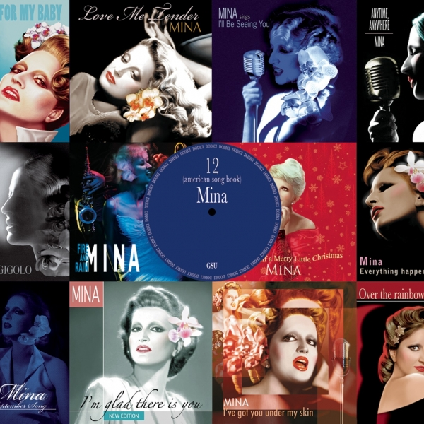 Mina 12 (American Song Book) cover art