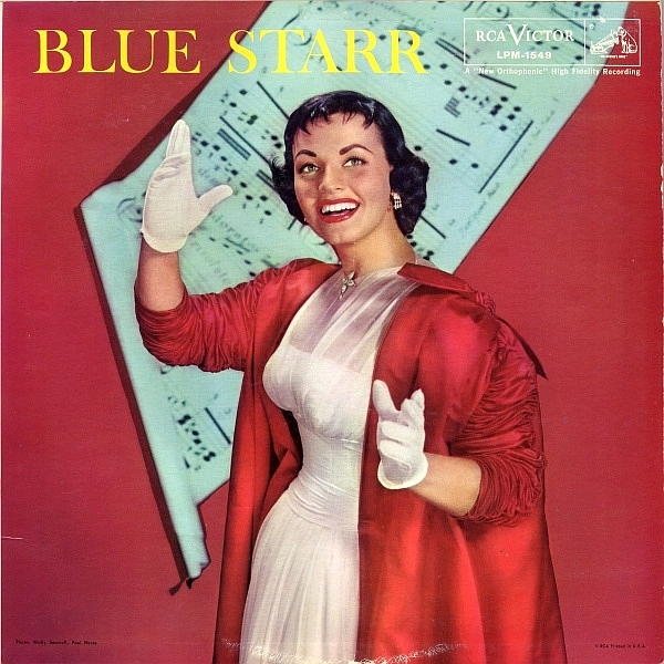 Kay Starr Blue Starr cover art