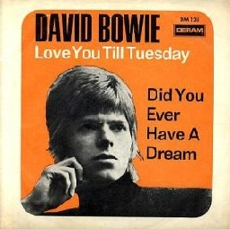 David Bowie Love You Till Tuesday Cover Art