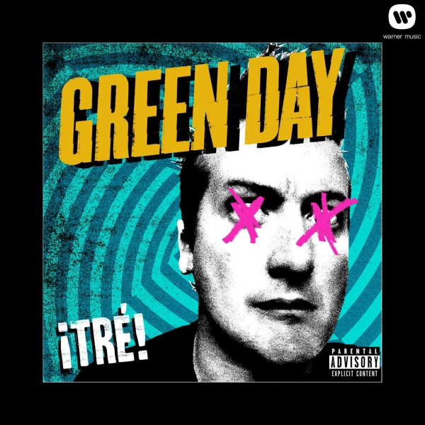 Green Day ¡Tré! cover art