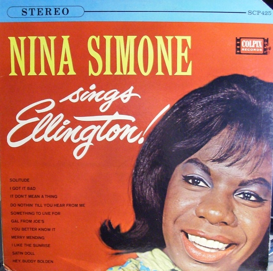 Nina Simone Nina Simone Sings Ellington cover art