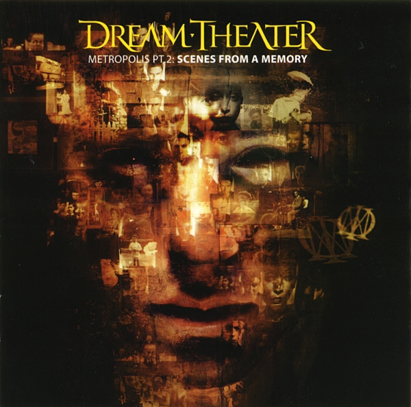 Dream Theater Metropolis, Pt. 2: Scenes From a Memory cover art