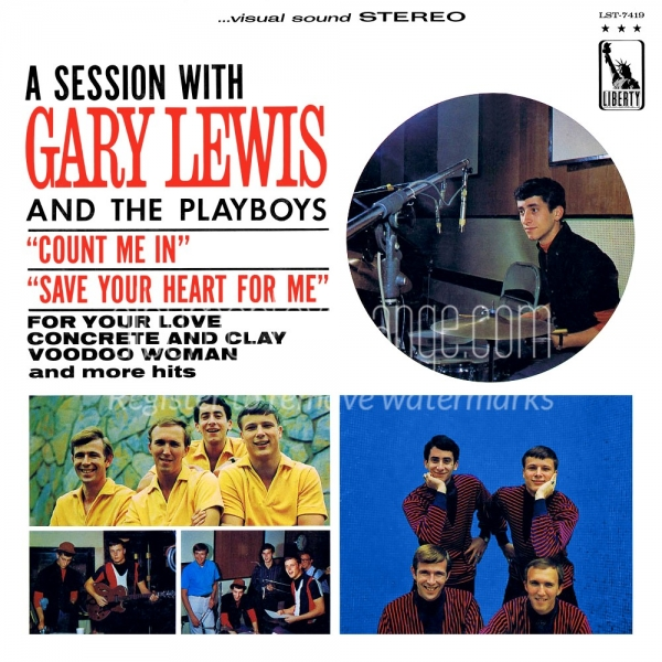 Gary Lewis & The Playboys A Session With Gary Lewis and the Playboys cover art