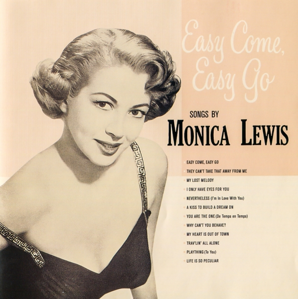 Monica Lewis Easy Come, Easy Go cover art