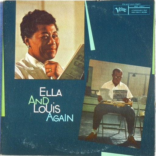 Louis Armstrong Ella and Louis Again cover art