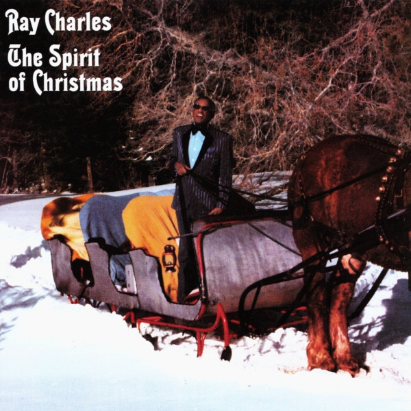 Ray Charles The Spirit of Christmas Cover Art