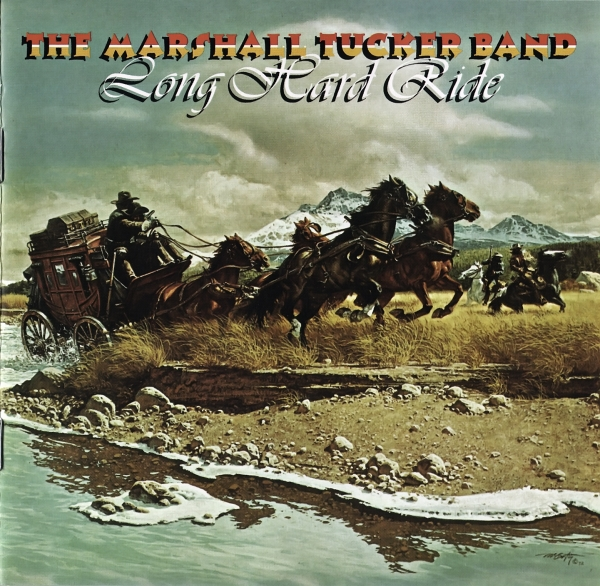 The Marshall Tucker Band Long Hard Ride cover art