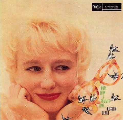 Blossom Dearie Once Upon a Summertime Cover Art