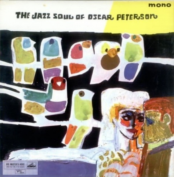 Oscar Peterson The Jazz Soul of Oscar Peterson Cover Art