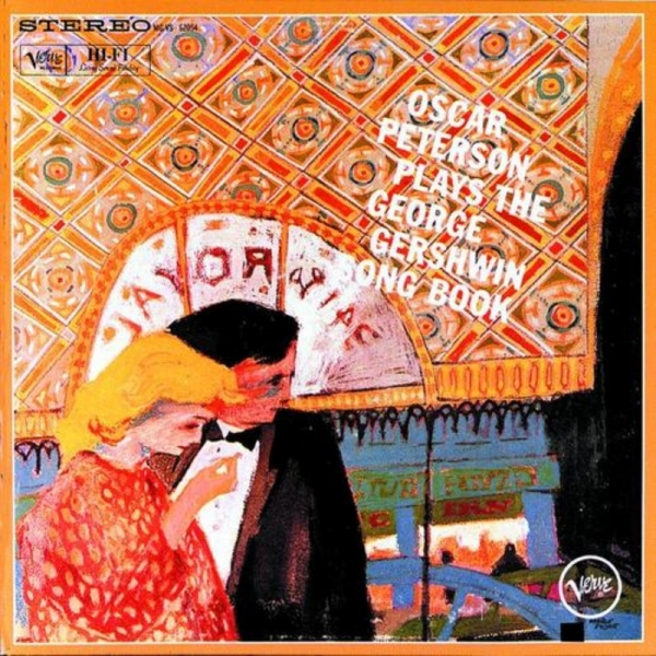 Oscar Peterson Oscar Peterson Plays the George Gershwin Songbook cover art