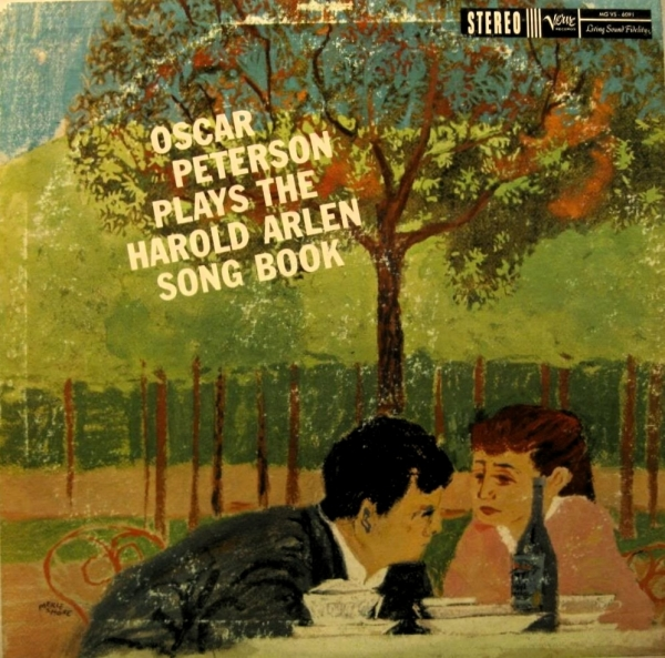 Oscar Peterson Oscar Peterson Plays the Harold Arlen Song Book cover art