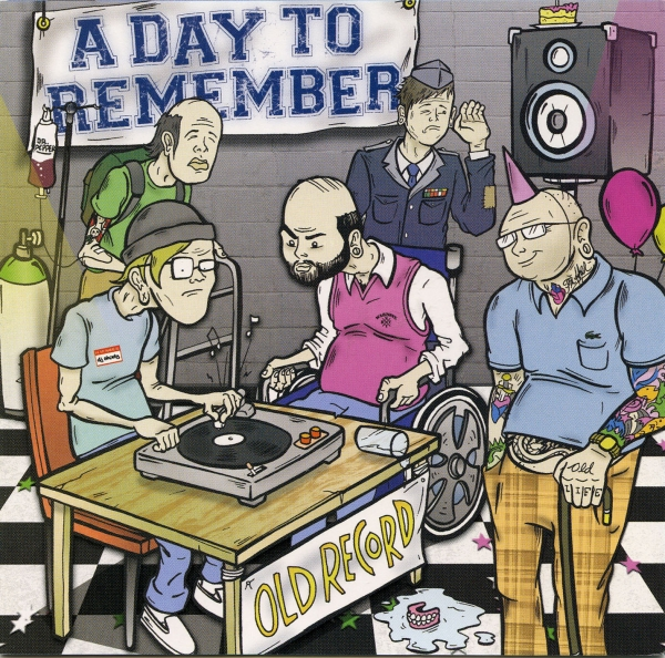 A Day to Remember Old Record cover art