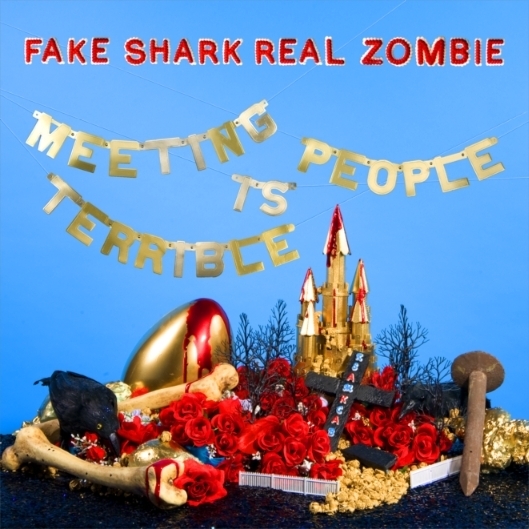 Fake Shark-Real Zombie Meeting People Is Terrible cover art