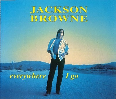 Jackson Browne Everywhere I Go Cover Art