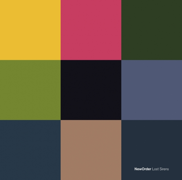 New Order Lost Sirens Cover Art