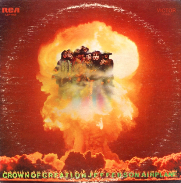 Jefferson Airplane Crown of Creation cover art