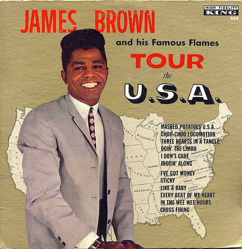 James Brown & The Famous Flames Tour the U.S.A. cover art
