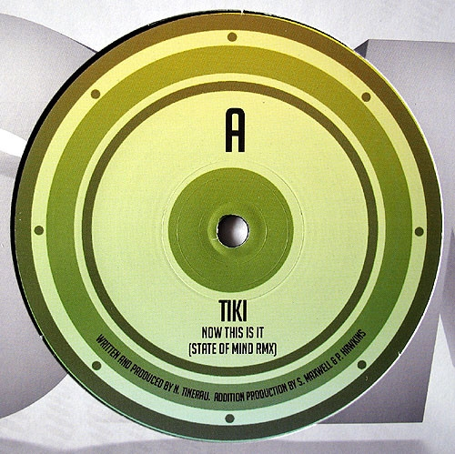Tiki / Spinline Now This Is It (State of Mind remix) / Coldfeet Cover Art