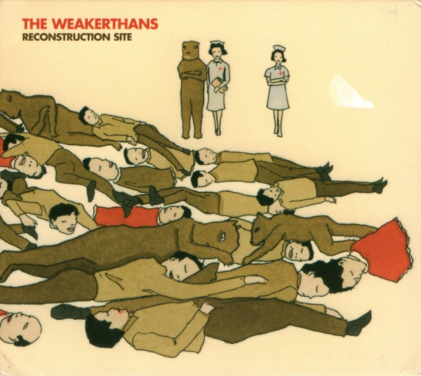 The Weakerthans Reconstruction Site cover art