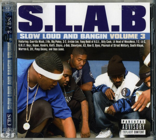 S.L.A.B. Slow, Loud and Bangin', Volume 3 Cover Art