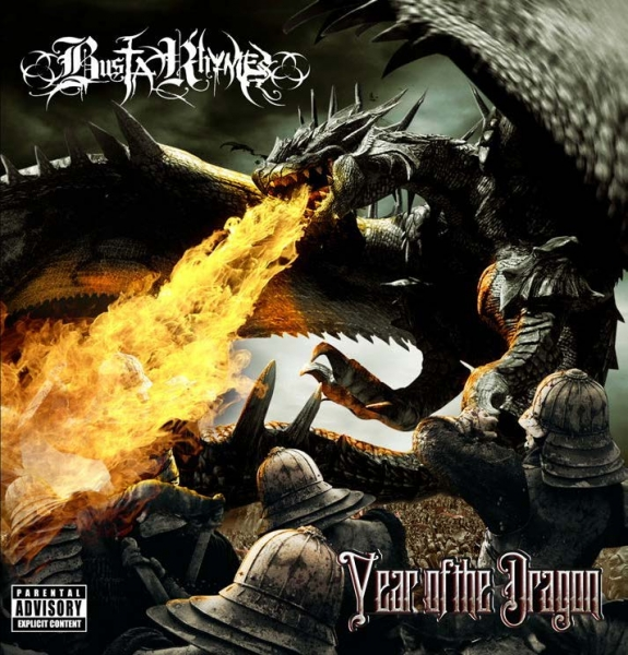 Busta Rhymes Year of the Dragon Cover Art