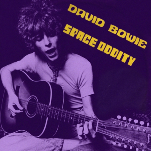 David Bowie Space Oddity Cover Art