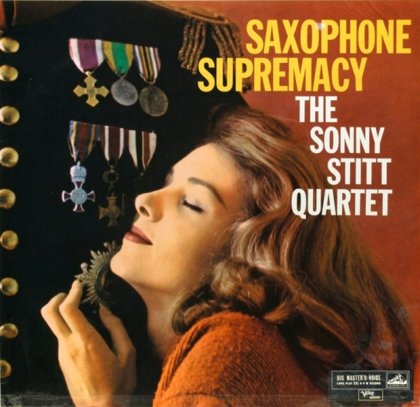 Sonny Stitt Quartet Saxophone Supremacy cover art