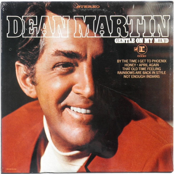 Dean Martin Gentle on My Mind cover art