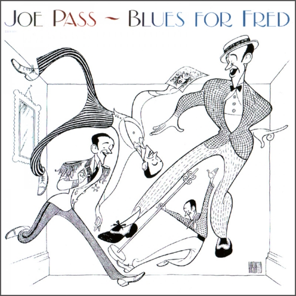 Joe Pass Blues for Fred Cover Art