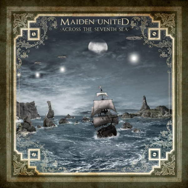 Maiden uniteD Across the Seventh Sea cover art