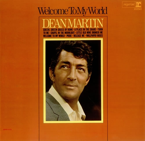 Dean Martin Welcome to My World cover art