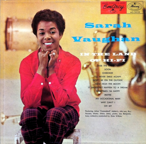 Sarah Vaughan In the Land of Hi-Fi cover art