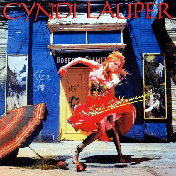 Cyndi Lauper She's So Unusual cover art