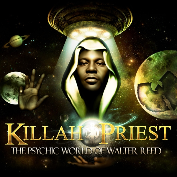 Killah Priest The Psychic World of Walter Reed Cover Art