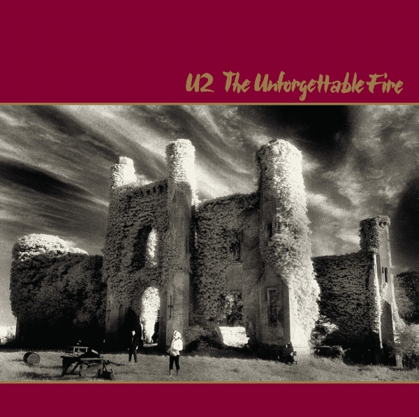U2 The Unforgettable Fire cover art
