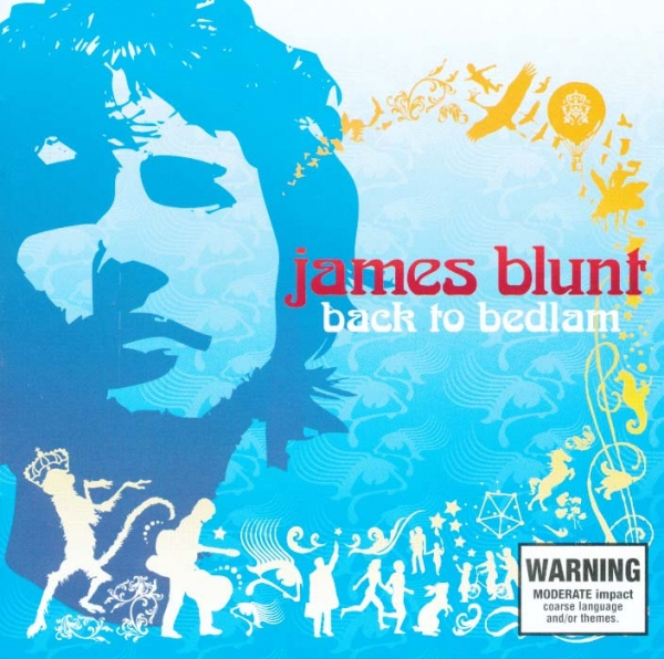 James Blunt Back to Bedlam cover art