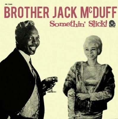"""Brother"" Jack McDuff Somethin' Slick! cover art"