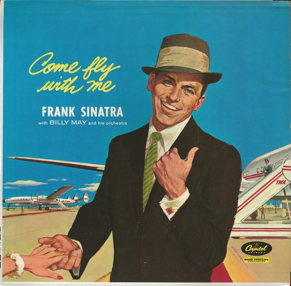 Frank Sinatra Come Fly With Me cover art