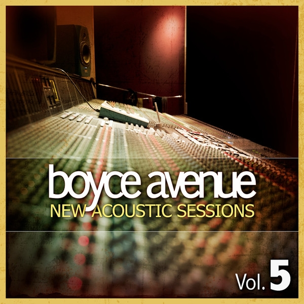 Boyce Avenue New Acoustic Sessions, Volume 5 cover art